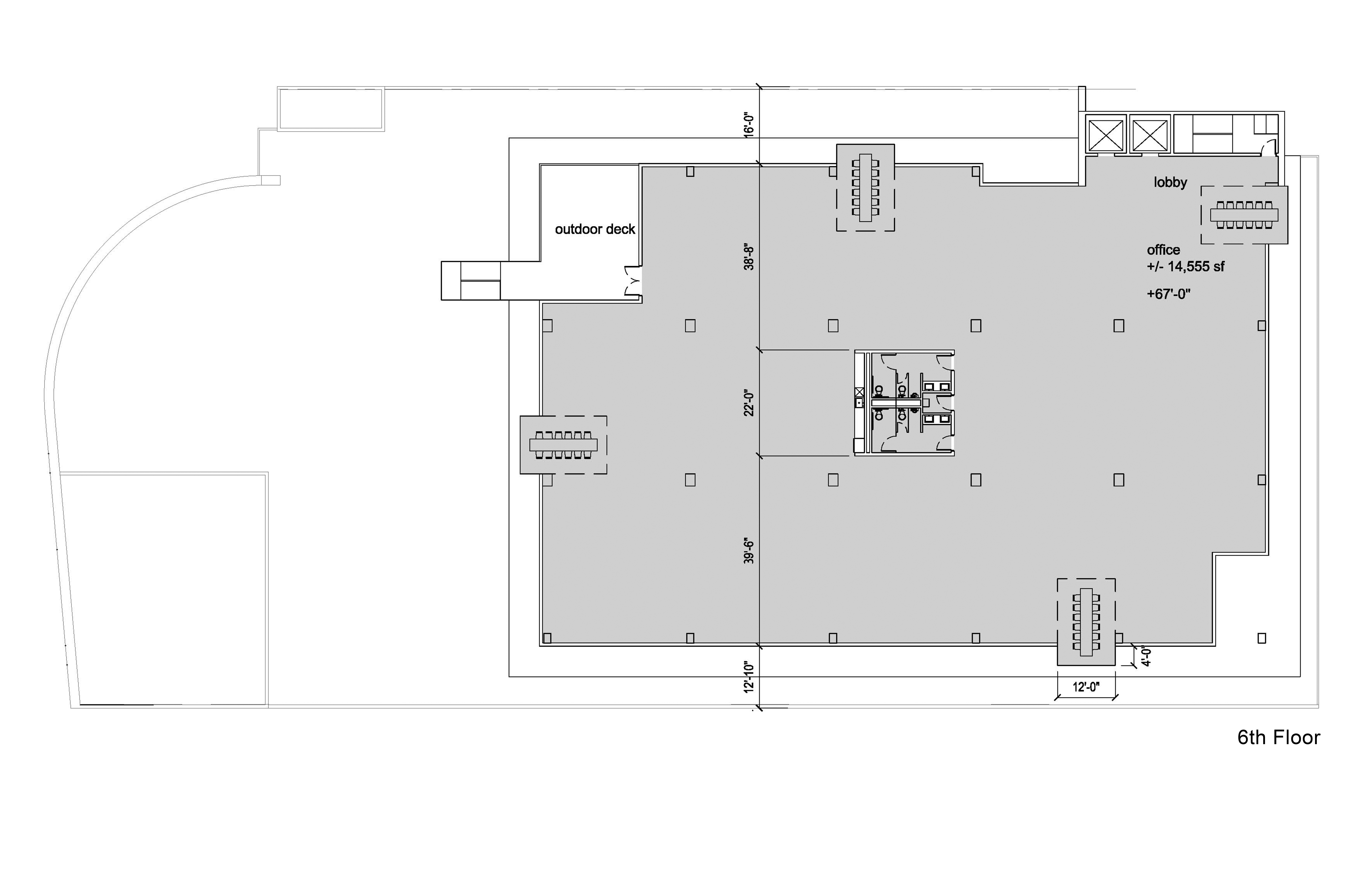 925 La Brea Floor 6 Plan
