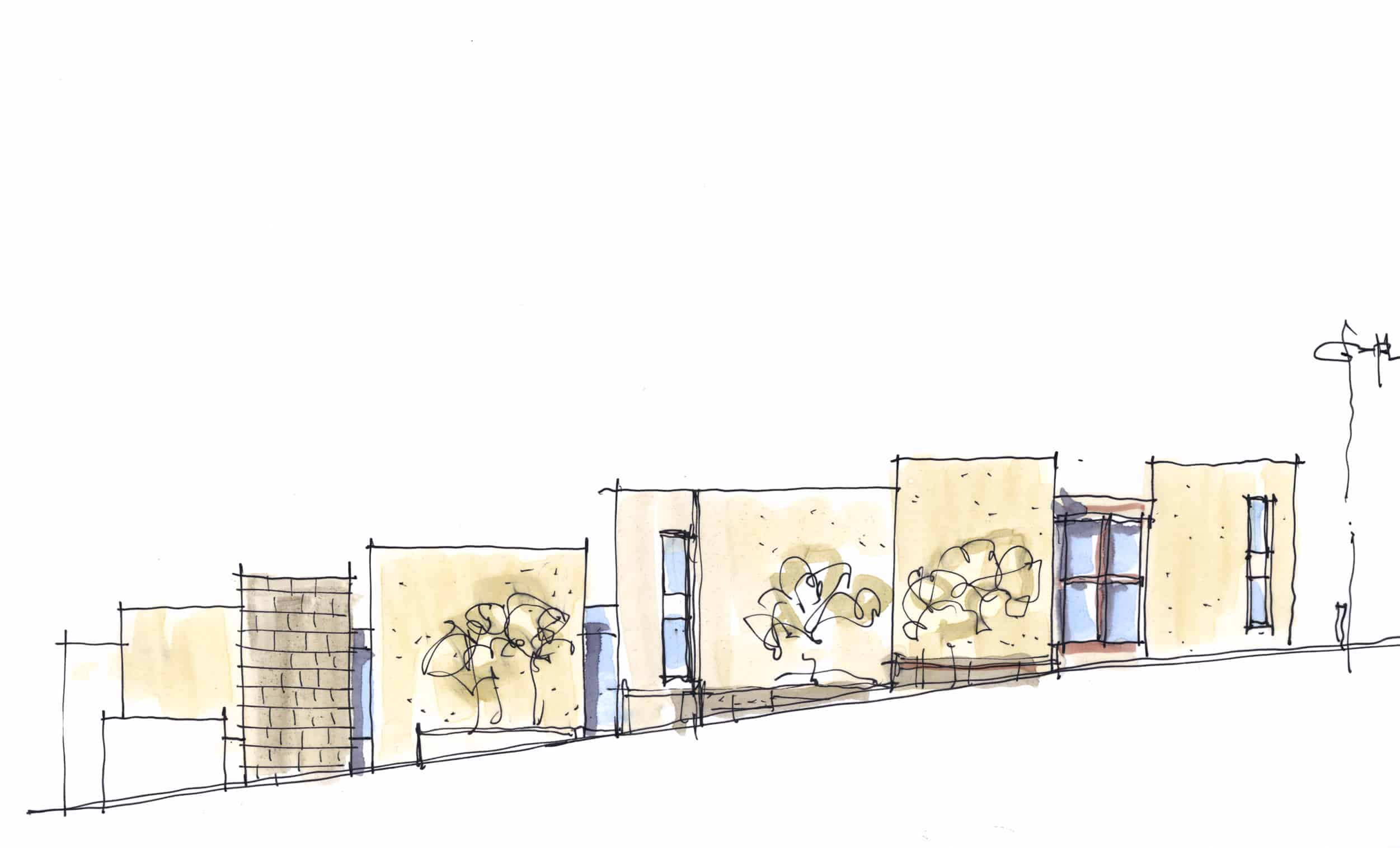 0340_Bentley Residence_Elevation Sketch 3