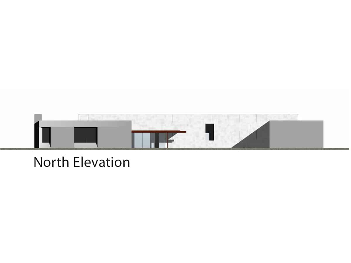 9719_Montecito Residence_North Elevation
