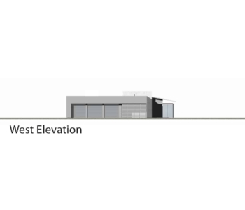 9719_Montecito Residence_West Elevation