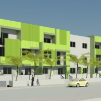 0823_Isla Vista Housing_3D View 2